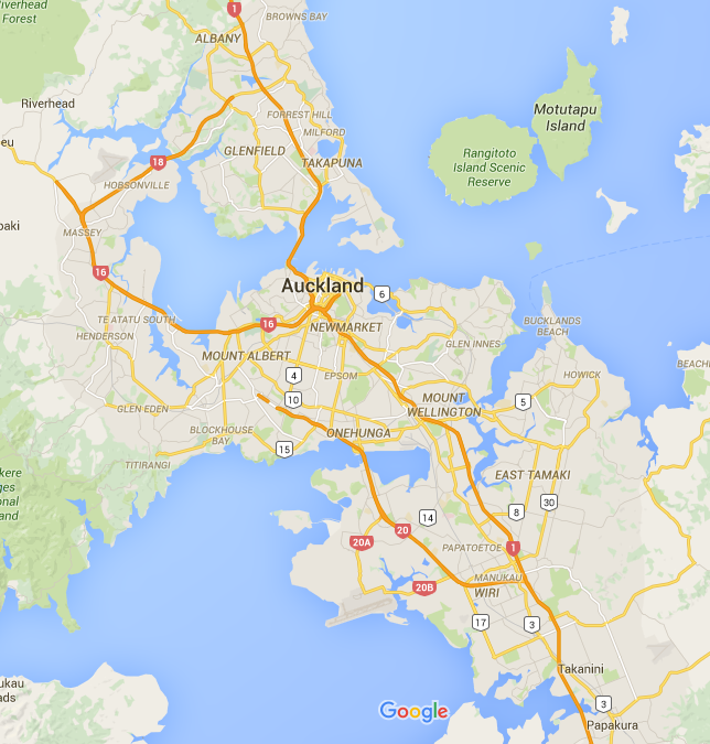 Auckland Tutoring Locations